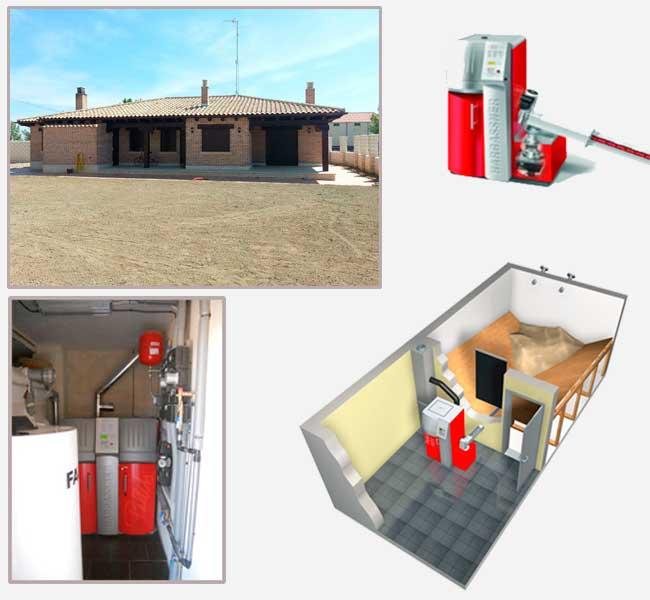 caldera pellets biomasa