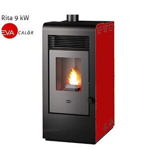 Eva Calor Rita - Estufa de pellets (9 kW)